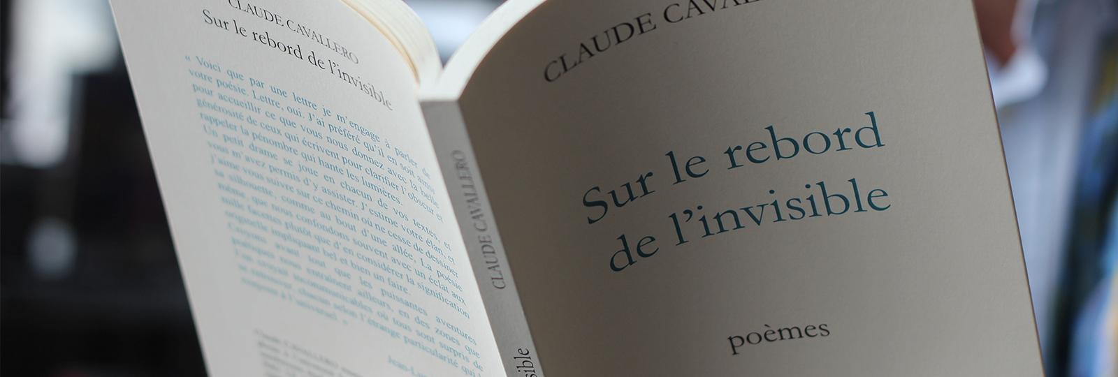 Sur le Rebord de L'invisible - Claude Cavallero