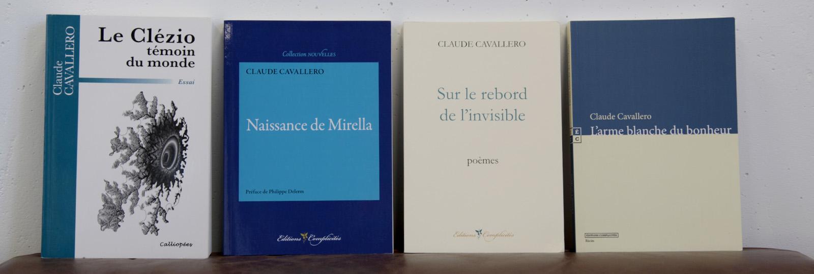 Bibliographique de Claude Cavallero